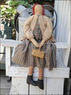 Art Primitive Crafts art-dolls