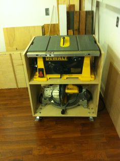 Table saw portable stand
