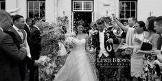 Confetti shot | Lewisbrownphotography | East Cliff Hotel