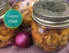 Pfifferlinge einlegen und konservieren - Rezept von Joes Cucina Verde Love Food, Pickles, Cucumber, Mason Jars, Vegetables, Youtube, Pickling, Fungi, Food Food