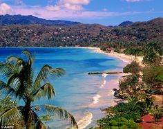 """Grenada: """"Spice Island"""" of Caribbean - Grand Anse Beach. One of my favorite placed on our honeymoon !!"""
