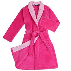 Kids Girl Boy Soft Coral Fleece Cartoon Bathrobe Bath Towel Wrap Gown Sleepwear. 100% Brand new and high quality children's lovely cartoon spa bath robe dressing gown coral velvet pink/blue nightgown nightrobe pajamas sleepwear for kids girls boys age 5-15 years. Made of premium luxury coral fleece,extremely soft and warm, skin-friendly and cozy for wearing. Self tie closure for easy wearing, two front pockets, embroidered cartoon pattern design,bright color,specially designed for…