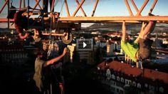 Rainer Eder's Extreme Urban Climbing Shoot! #Mammut #Red #Bull
