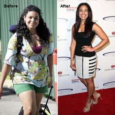 Celebrity Before and After: Healthy Weight-Loss Success