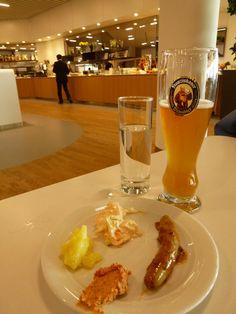 """Lufthansa Lounge"" Frankfurt Aeroporto (Marzo)"