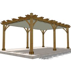 The Breeze pergola will add beauty and elegance to your outdoor living space. Perfect for hanging out with your family and friends or to have intimate dinner parties under the stars. What can be bette