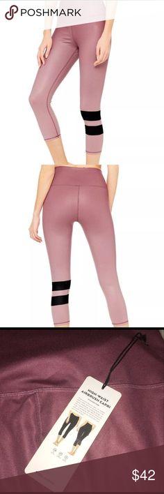 Alo Yoga Airbrush Leggings BRAND NEW Brand New alo yoga cropped leggings ALO Yoga Pants Leggings