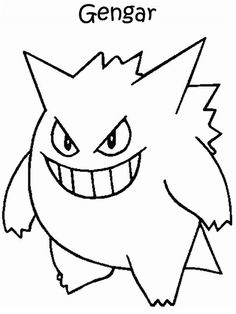 Desenhos para pintar Pokemon 50