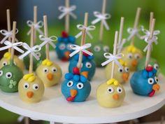 cakepop galinha pintadinha passo a passo - Pesquisa Google