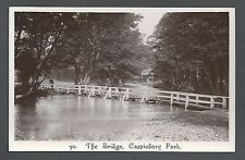 The Bridge Cassiobury Park Watford Hertfordshire Real Photographic Postcard Watford, Old Pictures, Bridge, England, Park, Outdoor, Outdoors, Antique Photos, Old Photos