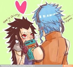 Fairy Tail - Genderbend Gajeel and Levi ; How to Fight for Dummies Fairy Tail Genderbend, Fairy Tail Anime, Fairy Tail Levy, Fairy Tail Ships, Gruvia, Fairytail, Gajevy, Gender Bender, Anime Comedia