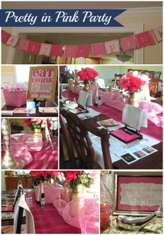 Pretty in Pink Party- Mary Kay Kick Off Party