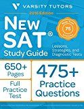 Free Kindle Book -   New SAT Prep Study Guide: Lessons, Strategies, and Diagnostic Tests