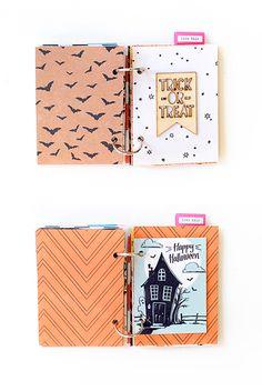 Maria Lacuesta - Crate Paper Design Team - Halloween Mini Album