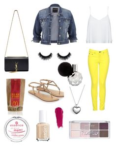 """Spring walking on sunshine"" by larissa-bens on Polyvore featuring mode, rag & bone, maurices, Alice + Olivia, Accessorize, Essie, Yves Saint Laurent, Pandora, NARS Cosmetics en women's clothing"