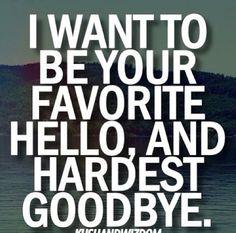 #hello #goodbye
