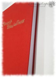handgebundenes Buch Cover