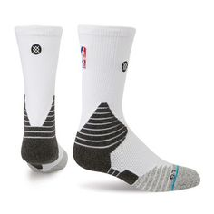NBA Stance Women's Solid Crew Socks - White Celebrate your fandom with these NBA Core crew socks from Stance. They feature team colors in a slick style. These NBA socks are the perfect way to let everyone know who you root for! Basketball Shorts Girls, Basketball Games For Kids, Adidas Basketball Shoes, Basketball Hoop, Basketball Season, Kids Sports, Nike Elite Socks, Basketball, Nike Socks
