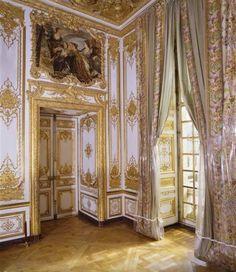 Rincón de la recamara de la Reina en Versalles.