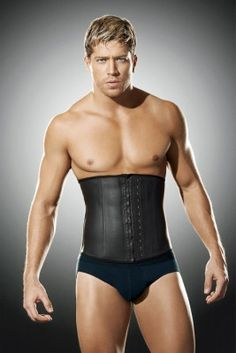"""The Men's Division Vest will help the man in your life look more """"fit."""" Does he need a little help in that new Christmas sweater? #WaistTraining #NoShame"""