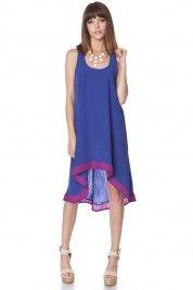 Adina Colorblock Hi Lo Dress $34  #shopsosie #dress #highlow #colorblock #summer #fashion #shopping