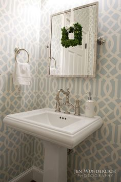 small but mighty: 100 powder rooms that make a statement