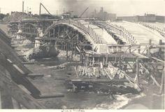 Construction of the Fulton Street Bridge - 1927