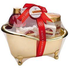 Das Wellness-Set Cranberries Love ist ein romantisches und schönes Geschenk für jede Frau. Verschenken Sie eine Auszeit mit dem Wellness-Set. Ideal zum Muttertag oder einfach als Geschenk zwischendurch.