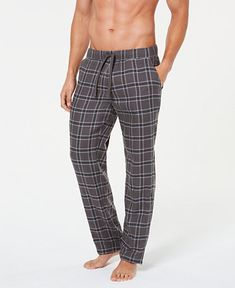 UGG Men Flynn Plaid Cotton Pajama Pants ff8cd5560