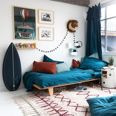 Information, techniques and tips for boy room decor DIY -> When buying home office furniture, selec. Room Ideas Bedroom, Boys Room Decor, Teen Bedroom, Home Decor Bedroom, Boy Room, Kids Room, 6 Year Old Boy Bedroom, Diy Zimmer, Home Office Furniture