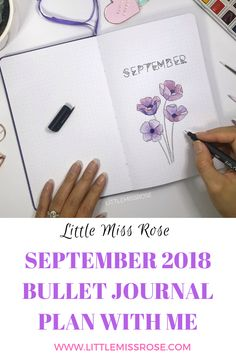 Watch my latest bullet journal plan with me for September 2018 where you'll find ideas for beautiful monthly logs, weekly spreads and more! Bullet Journal Contents, Bullet Journal Cover Ideas, Bullet Journal Junkies, Bullet Journal Themes, Bullet Journal Layout, Bullet Journal Inspiration, Journal Pages, Bullet Journals, Journal Ideas