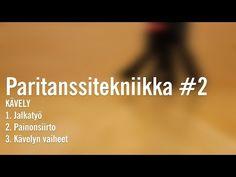 (1) Paritanssitekniikka #2 /kävely - YouTube