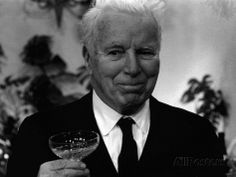 Charlie Chaplin Silent Comedy Actor Celebrates His 77th Birthday, April 1966