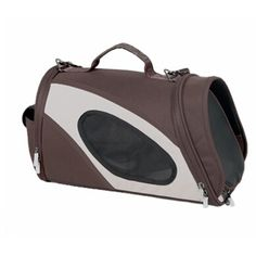 The Airline Approved Phenom-air Travel Pet Carrier is constructed with Ballistic Nylon and Tough Micro-mesh. Features a cylindrical design for added wiggle room and a bottom sturdy yet flexible bottom