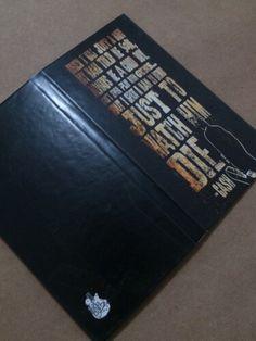Livreto de Bolso do On the Rocks Pub - tema Johnny Cash