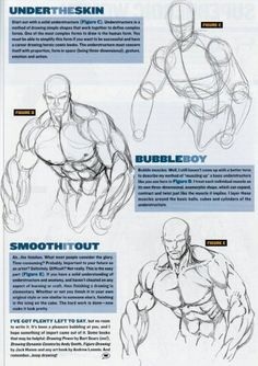art dibujos ratcreature: how to draw female comic characters (according to Wizard). Anatomy Sketches, Anatomy Drawing, Guy Drawing, Anatomy Art, Drawing People, Figure Drawing, Drawing Reference, Drawing Sketches, Drawing Muscles