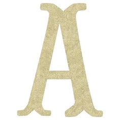 Camille Wall Letters, Glitter #pbteen, We can put this in the Gallery wall with the different font letters with Gs