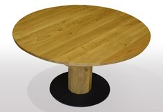 available for sale Kiefer, Table, Furniture, Home Decor, Round Wood Table, Wood Columns, Round Tables, Moving Out, Decoration Home