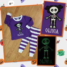Halloween pajamas for my daughter