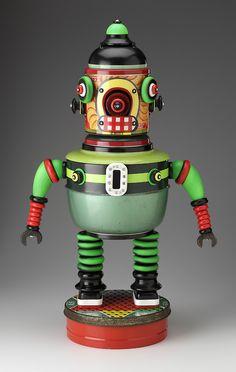 """31"""" Robot / Materiales reciclados"""