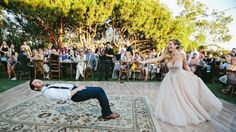 Bride Casts Magical Spell on Her Groom During First Dance
