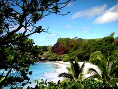 Hamoa Beach, Maui - Great memories here with my three children. We drove there and spent the day. Great time!