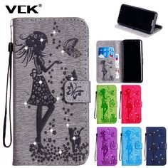 For Huawei G8 mini Enjoy 5S GR3 honor 4c pro y6 pro 5X 6X GR5 Pattern Butterfly Diamond TPU Leather Wallet Case Cover Flip Back