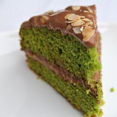 bolo de espinafres e chocolate - a experimentar!