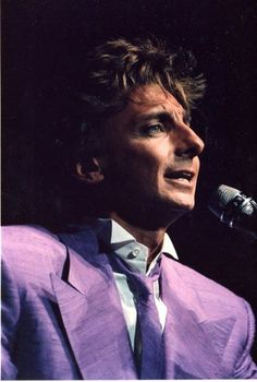 Barry Manilow singing. The Power Of Music, Barry Manilow, Music Icon, Great Memories, Single Image, Favorite Person, Are You The One, My Idol, The Man