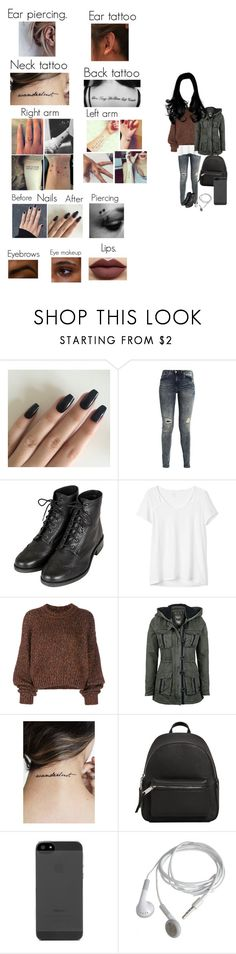 """My oc."" by sweetdreamer13 ❤ liked on Polyvore featuring Topshop, Gap, Isabel Marant and MANGO"