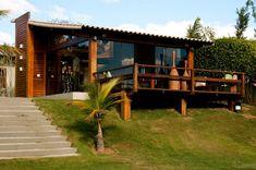 Casas de estilo por natalie tramontini arquitetura e interiores, rural House In The Woods, My House, Bg Design, Interior Design, Tropical Houses, My Dream Home, Beautiful Homes, Architecture Design, Tropical Architecture