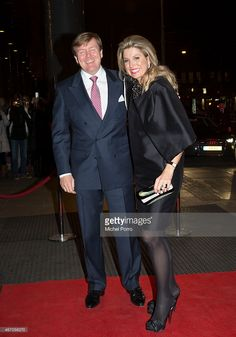 Queen Maxima of The Netherlands and King WillemAlexander of The Netherlands arrive to attend the...