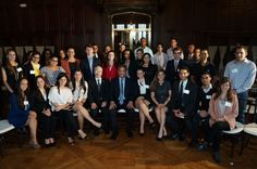 Former president of the Dominican Republic Leonel Fernandez visited students at Manhattanville College this past Fall 2012 #president #international #mville