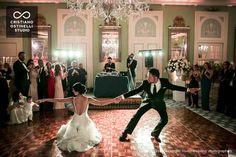 ville d'este wedding reception